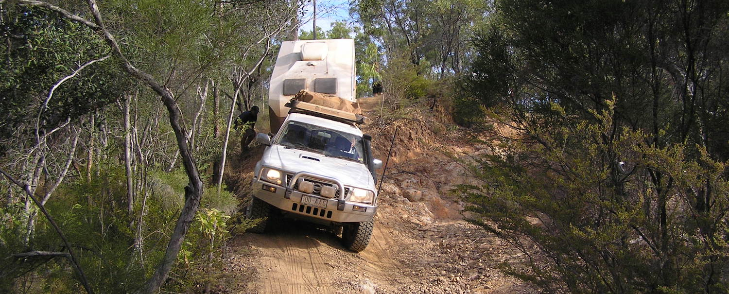 Low range 4wd Bush Course