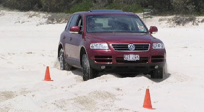 4wd Sand Course