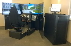 driver training simulator defensive driving